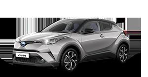 Toyota C-HR - Concessionario Toyota Trieste, Udine e Gorizia